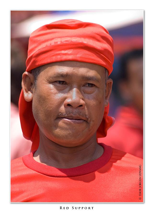 Red Support by Jorgen Udvang in Jorgen Udvang