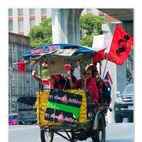 Red Transport by Jorgen Udvang