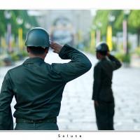 Salute by Jorgen Udvang in Jorgen Udvang