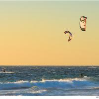 Sunset Surf by Jorgen Udvang