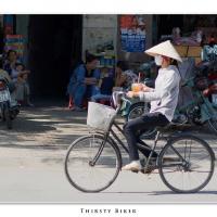 Thirsty Biker by Jorgen Udvang