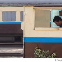 Train Guard by Jorgen Udvang in Jorgen Udvang