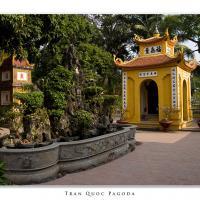 Tran Quoc Pagoda by Jorgen Udvang