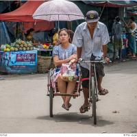 Tricycle and Fruit by Jorgen Udvang