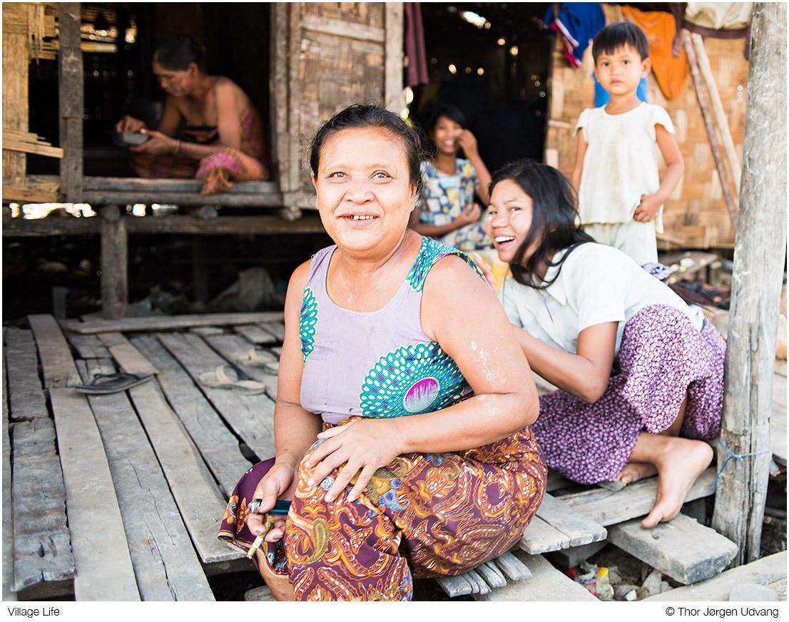 Village Life by Jorgen Udvang in Jorgen Udvang