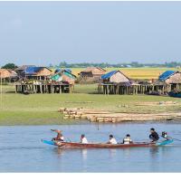 Village With Water View by Jorgen Udvang in Jorgen Udvang