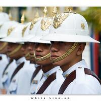 White Line-up by Jorgen Udvang in Jorgen Udvang