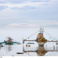 Wooden Ships, on the Water by Jorgen Udvang in Jorgen Udvang