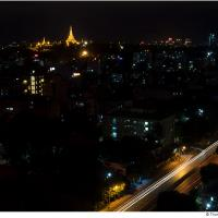 Yangon Night by Jorgen Udvang