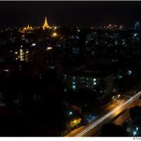 Yangon Night by Jorgen Udvang in Jorgen Udvang