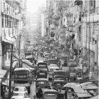 Yangon Traffic by Jorgen Udvang in Jorgen Udvang