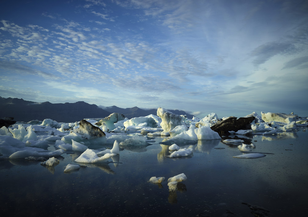 Iceberg Lagoon Wide