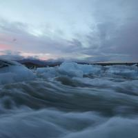 Icebergs Jam River by KWR Phase One