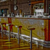 Bar On Sun Desk by woodmancy