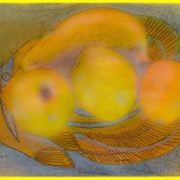 Fruity Fish - Framed Jpg by woodmancy in woodmancy