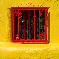 Fuji X-pro1 With Fuji 35mm - Red And Yellow Tucson  1 Of 1 by woodmancy