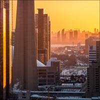 Fuji Xpro1 55-200 Zoom - Golden Sun  1 Of 1 by woodmancy
