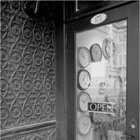 Gr1 Shop Door With Clocks by woodmancy