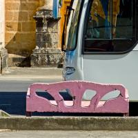 Gxr P10 Bus And A Bench by woodmancy