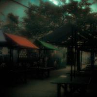 Kodak Ektar 25 - Market Stalls1 Of 1 by woodmancy