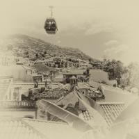 Madeira Cablecar Antique by woodmancy