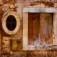 Oval And Square Window by woodmancy
