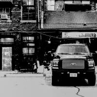 Pentax K-01 With 40mm Da Ltd - Black Ford by woodmancy