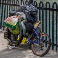Pentax K5 18-135 Bike With Bags by woodmancy