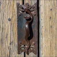 Pentax K5lls San Xavier Door Handle by woodmancy