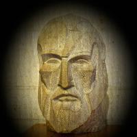 Photocopy - Gaudi S Head1 Of 1 by woodmancy