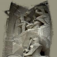 Photocopy - Gaudi S Horse Statue1 Of 1 by woodmancy