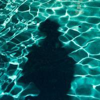 Photoman In The Pool1 Of 1 by woodmancy in woodmancy