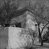 Ricoh A16  - Corner House Tucson B   W by woodmancy