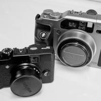 Ricoh Gr2 - - - Fuji Rangefinders1 Of 1 by woodmancy