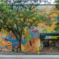 Ricoh Gxr P10 Beaches Wall Subway by woodmancy