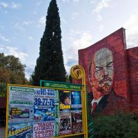 Stalin And Sign by woodmancy