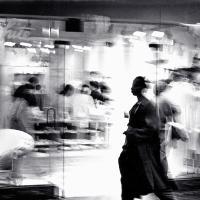 Shadow Walker, Chicago by fotografz in fotografz