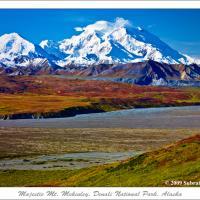 Majestic Mt. Mckinley, Denali National Park, Alaska by subrata1965 in subrata1965
