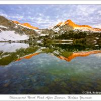 Illuminated North Peak After Sunrise, Hidden Yosemite by subrata1965