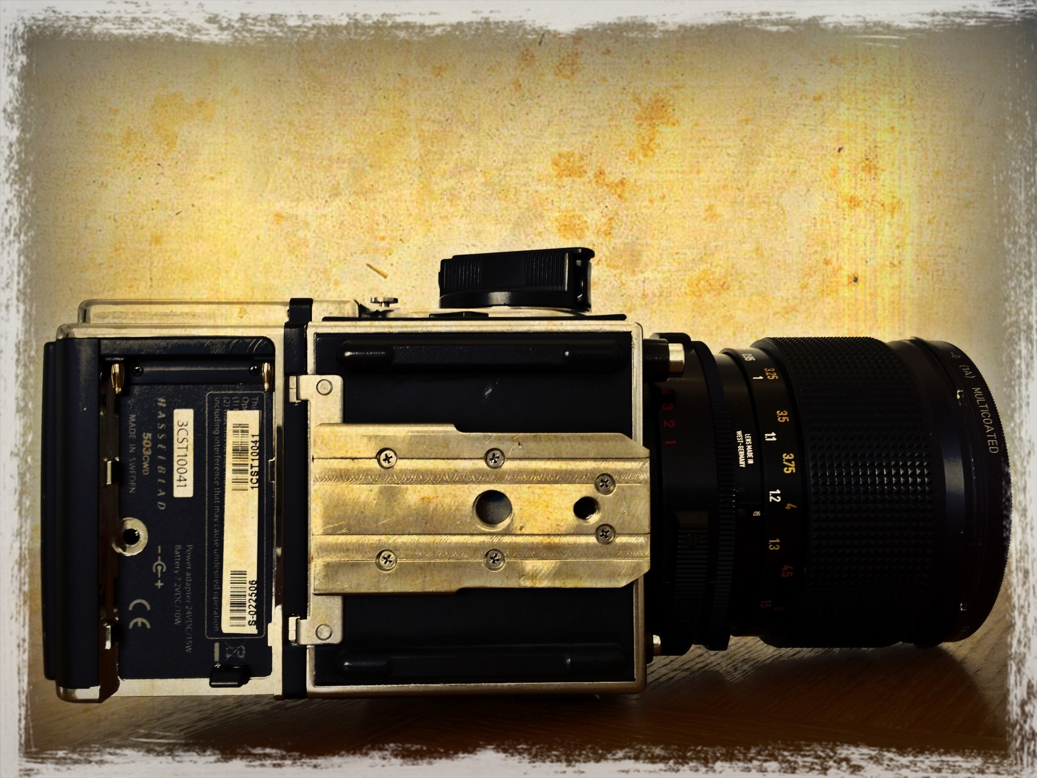 Customed Plate Arca Type For Hasselblad Cameras by PSon in PSon