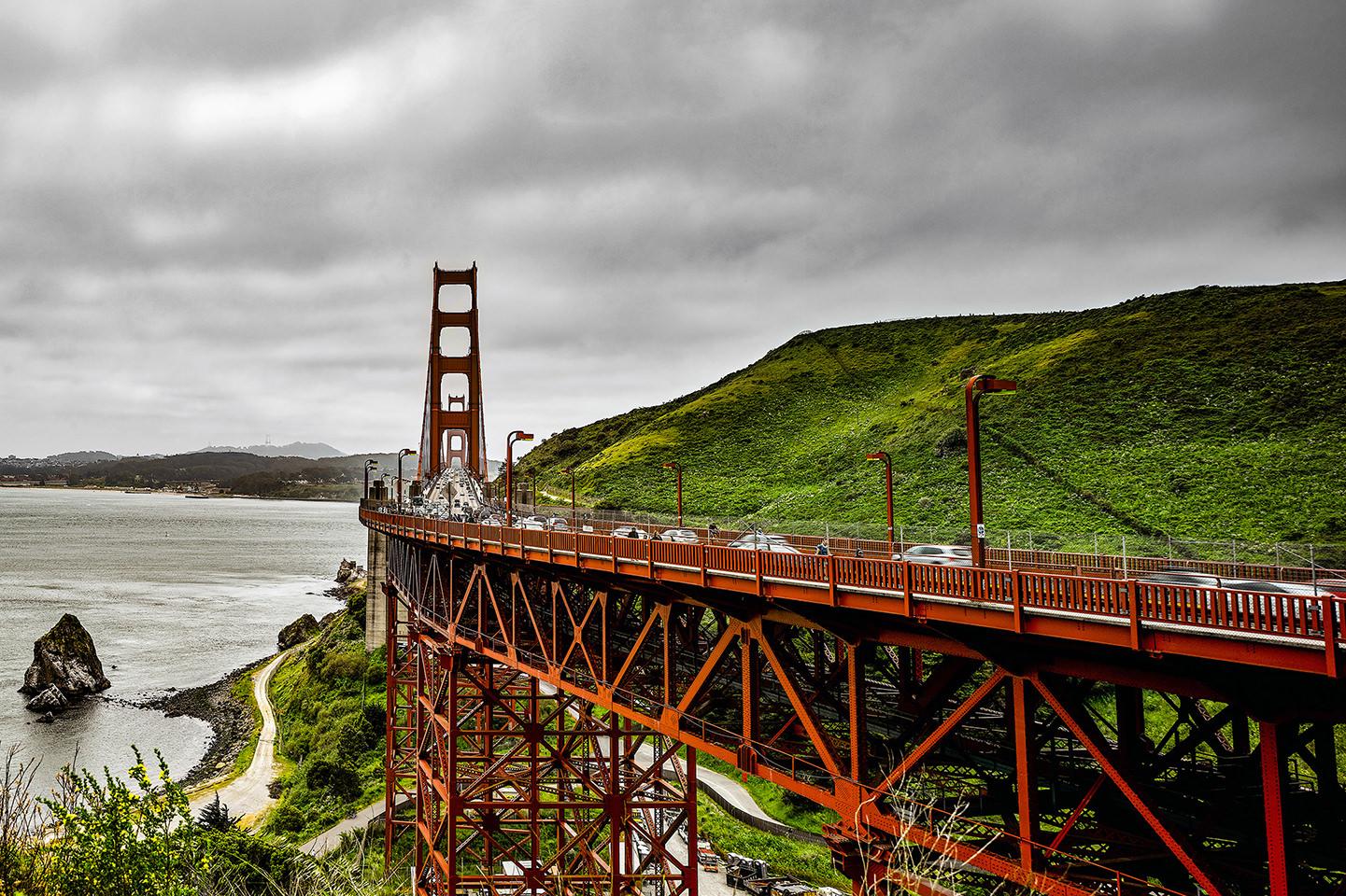 panorama golden gate bridge apo-grandagon 45mm f4.5 p4x6e by PSon in PSon