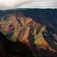 Waimea Canyon by Lisa