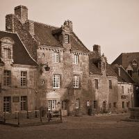 Main Square (locranon, Brittany), Infrared by Lisa in Regular Member Gallery