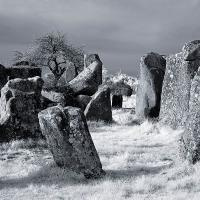 Brittany Megaliths (infrared) by Lisa in Regular Member Gallery