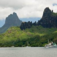 Moorea (view From The Lunch Table) by Lisa in Regular Member Gallery