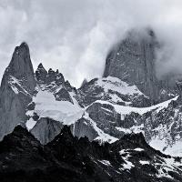 Fitz Roy In Clouds by Lisa