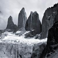 Torres Del Paine (b&w) by Lisa in Regular Member Gallery