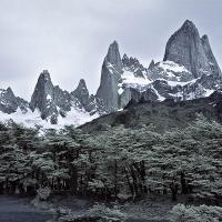 Fitz Roy In Infrared by Lisa