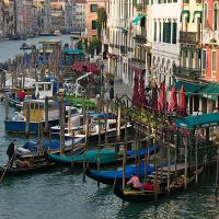 Gondoliers by Lisa