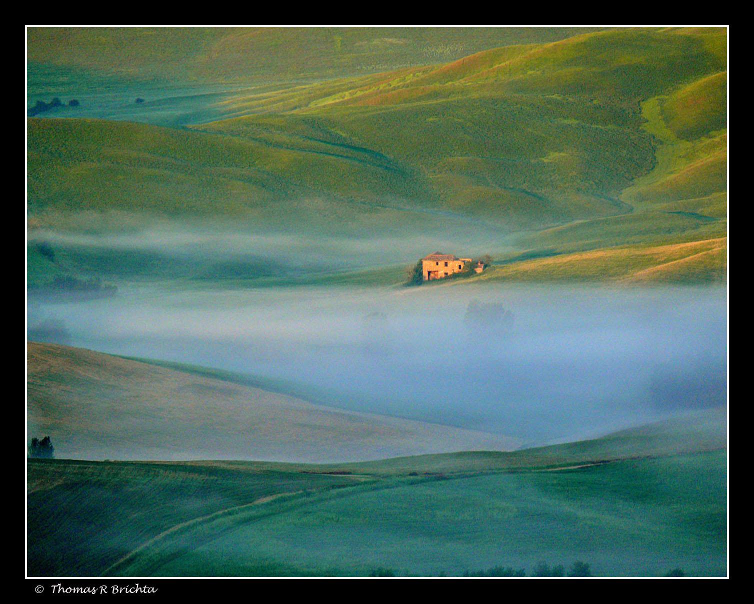 Dawn In Toscano Web
